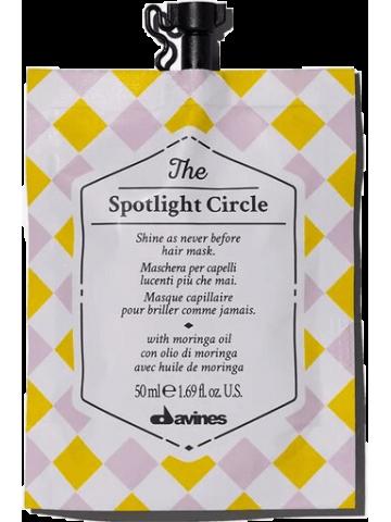 """Davines """"The spotlight circle"""" atkuriamoji žvilgesio kaukė"""