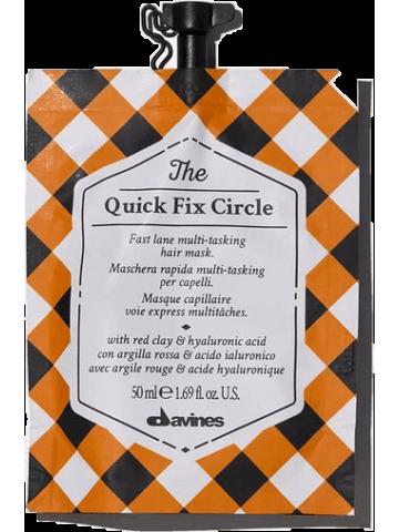 """Davines """"The quick fix circle"""" plaukus atkurianti kaukė"""